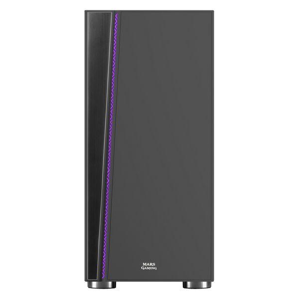 ATX Semi-tower Box Mars Gaming MC8 LED RGB Black