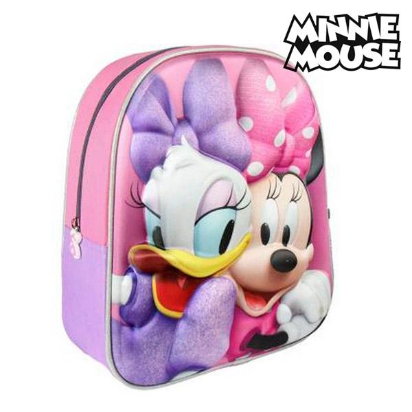 3D School Bag Minnie Mouse 8058