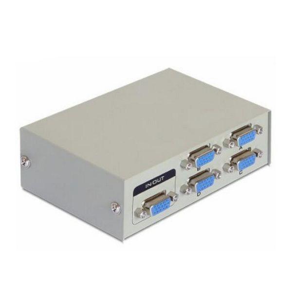 4-Port VGA Switch DELOCK 87635