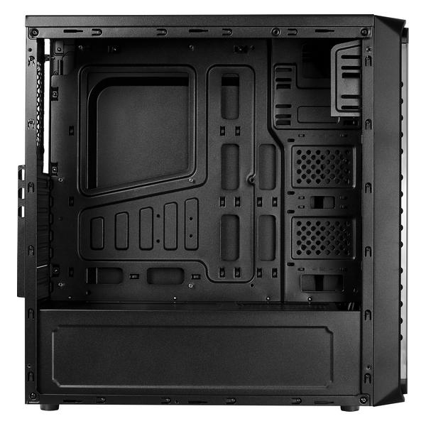 ATX Semi-tower Box Aerocool SI5200RGB RGB USB 3.0 Black