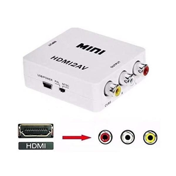 AV Adapter/Converter (HDMI to AV) (Refurbished A+)