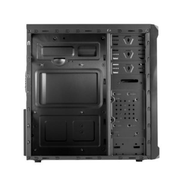 ATX Semi-tower Box NOX NXKORE USB 3.0 Black