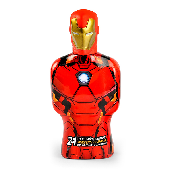 2-in-1 Gel and Shampoo Avengers Iron Man Cartoon (475 ml)
