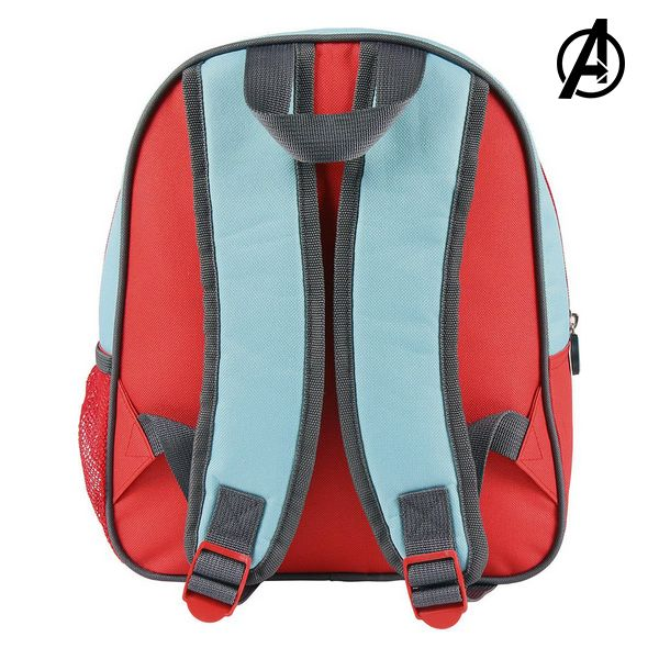 3D School Bag The Avengers (26 x 31 x 10 cm)
